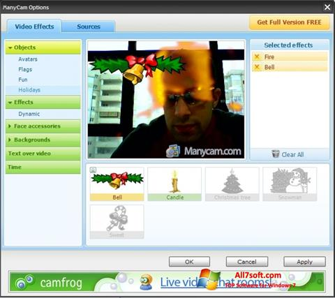 Screenshot ManyCam für Windows 7