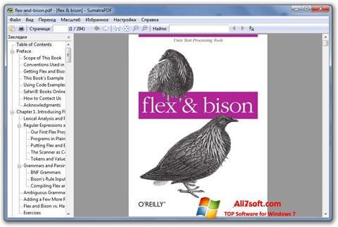 Screenshot Sumatra PDF für Windows 7