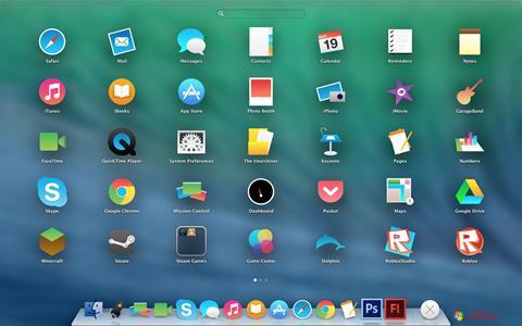 Screenshot OS X Flat IconPack Installer für Windows 7