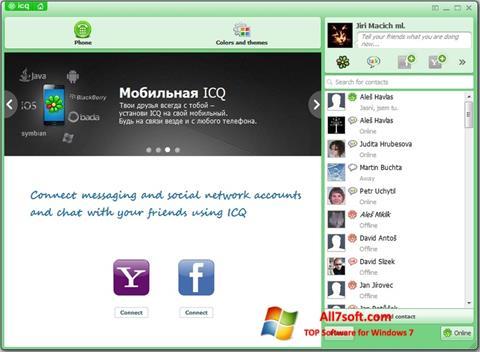 Screenshot ICQ für Windows 7
