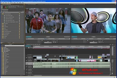 Screenshot Adobe Premiere Pro für Windows 7