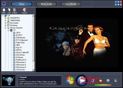 Screenshot Online TV Live für Windows 7