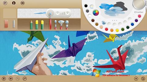 Screenshot Fresh Paint für Windows 7