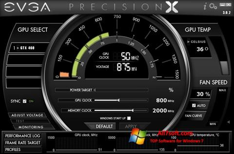 Screenshot EVGA Precision X für Windows 7