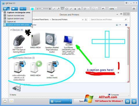 Screenshot QIP für Windows 7