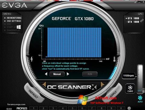 Screenshot EVGA Precision für Windows 7