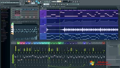 Screenshot FL Studio für Windows 7