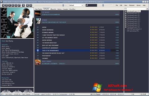 Screenshot Foobar2000 für Windows 7