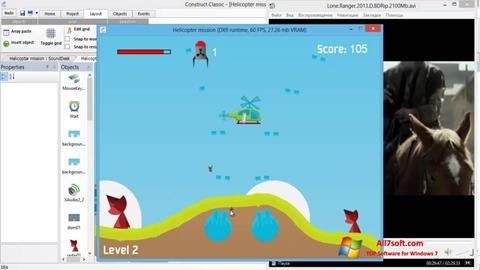 Screenshot Construct Classic für Windows 7