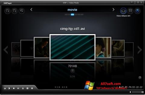 Screenshot KMPlayer für Windows 7